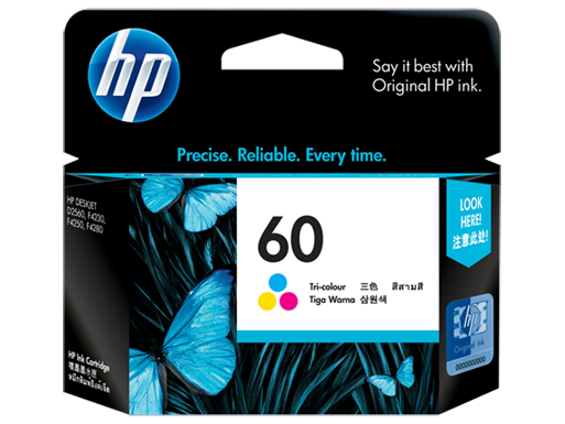 HP-60-COLOR-INK-Cartridges