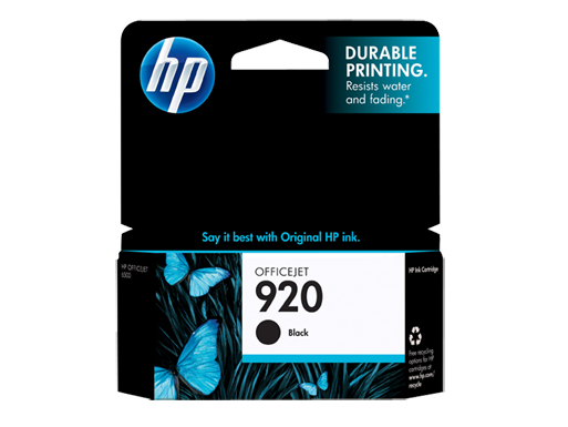 HP-920-Black Ink Cartridge