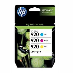 HP-920-Cyan/Magenta/ Yellow Ink Cartridge