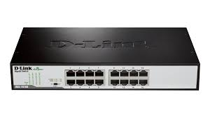 D-Link 16 port Gigabit Switch DGS-1016D