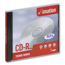 IMATION CDR JEWEL CASE 700MB 52X