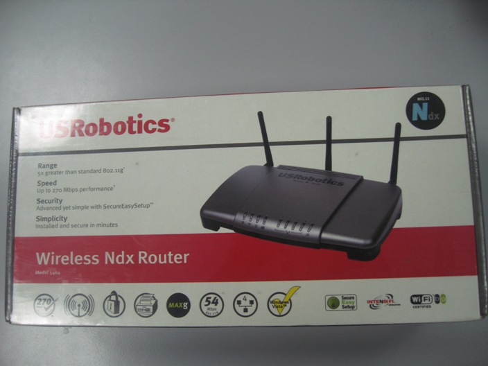US ROBOTICS 5464 WIRELESS NDX ROUTER