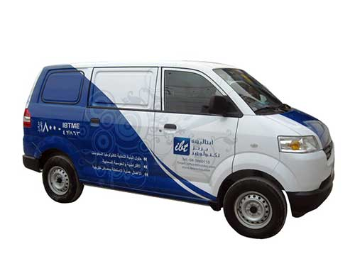 Vehicle Graphics - IBT Van