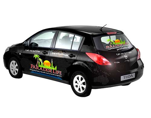 Vehicle Graphics - Nissan Tilda