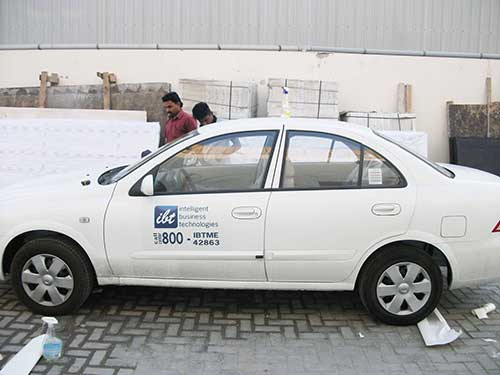 Vehicle Graphics - IBT Car